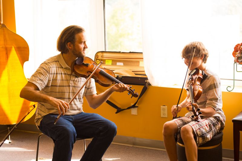 Fiddle Camp | Summer Music Camp Offering at Asheville Music School