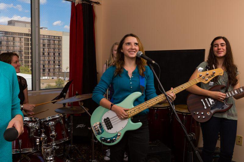 Teen Pop Rock Camp | Summer Music Camp Offering at Asheville Music School
